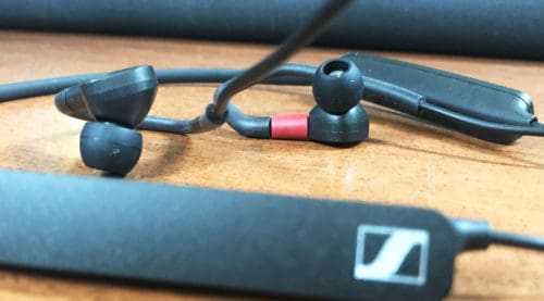 Sennheiser IE 80S Audiophile Wireless Earphones Neckband Style